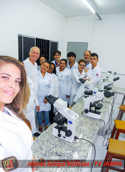 21 11 2017 - BIOMEDICINA - FASER - Laboratório Aula de Biologia Celular e Molecular com o Professor Renato Guedes Pinto (2)