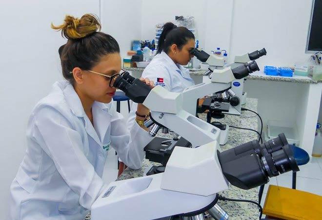 21 11 2017 - BIOMEDICINA - FASER - Laboratório Aula de Biologia Celular e Molecular com o Professor Renato Guedes Pinto (6)